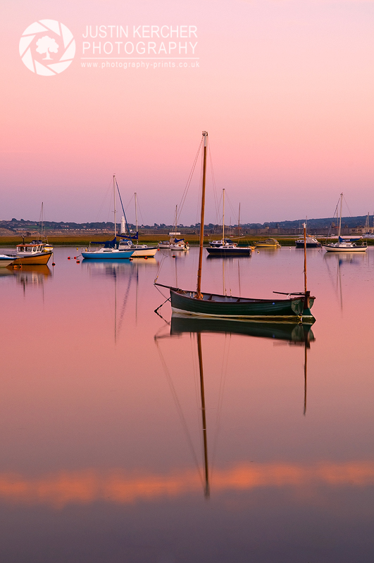Rowing Boats at Dawn