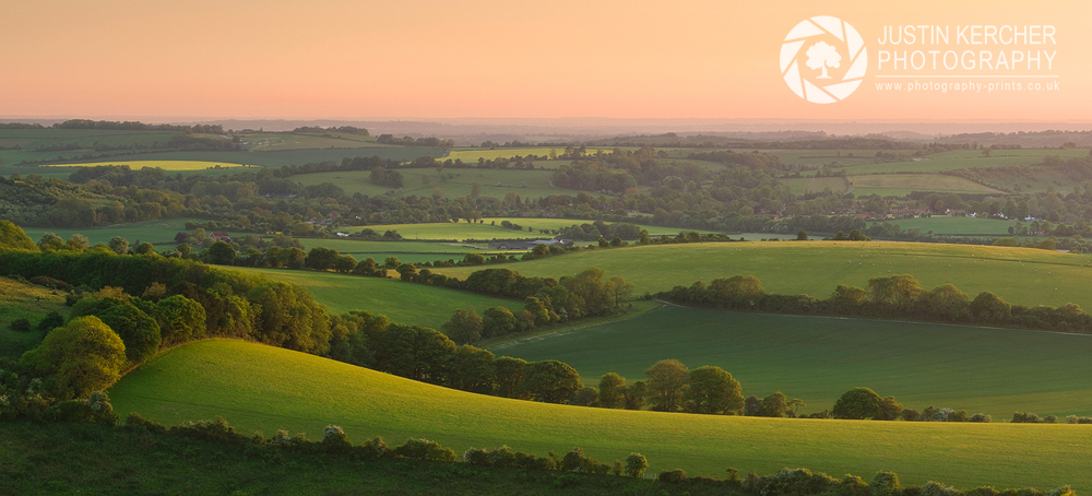 Sunset from Old Winchseter Hill II