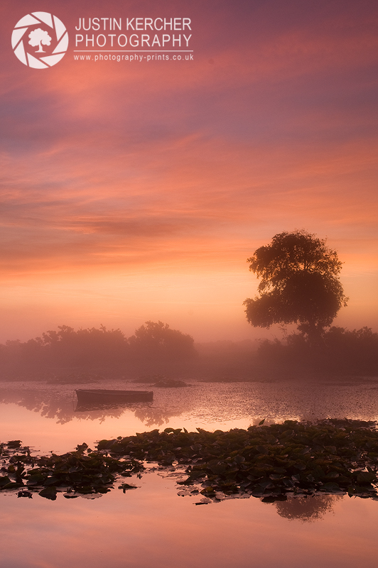 Misty Dawn at Little Hatchet