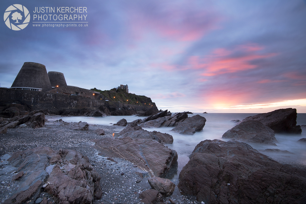Stormy sunset Over Ilfracombe Bay